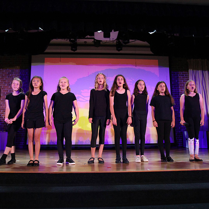 private middle school performing arts